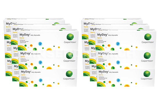 MyDay daily disposable Toric (2x270 Stück) SPARPAKET 9 Monate