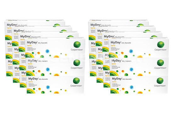 MyDay daily disposable Toric (2x360 Stück) SPARPAKET 12 Monate
