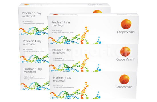 Proclear 1 Day multifocal (2x90 Stück) SPARPAKET 3 Monate