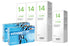 Extreme H2O 59 Thin & Lensy Care 14, Halbjahres-Sparpaket