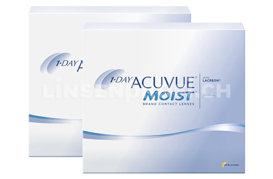 1-Day Acuvue Moist (2x90 Stück), SPARPAKET 3 Monate