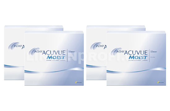 1-Day Acuvue Moist (2x180 Stück), SPARPAKET 6 Monate