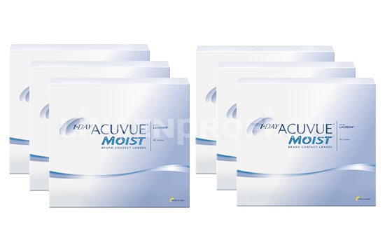 1-Day Acuvue Moist (2x270 Stück), SPARPAKET 9 Monate