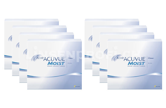 1-Day Acuvue Moist (2x360 Stück), SPARPAKET 12 Monate