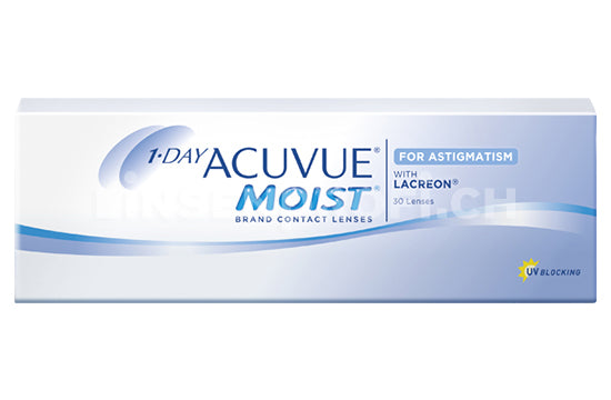 1-Day Acuvue Moist for Astigmatism (1x30 Stück)