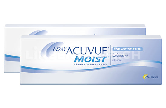 1-Day Acuvue Moist for Astigmatism (2x30 Stück)