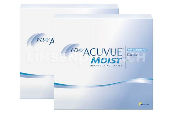 1-Day Acuvue Moist for Astigmatism (2x90 Stück), SPARPAKET 3 Monate