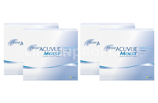 1-Day Acuvue Moist for Astigmatism (2x180 Stück), SPARPAKET 6 Monate