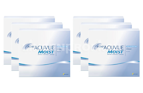 1-Day Acuvue Moist for Astigmatism (2x270 Stück), SPARPAKET 9 Monate