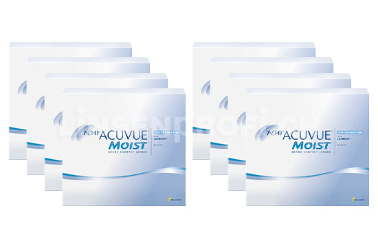 1-Day Acuvue Moist for Astigmatism (2x360 Stück), SPARPAKET 12 Monate