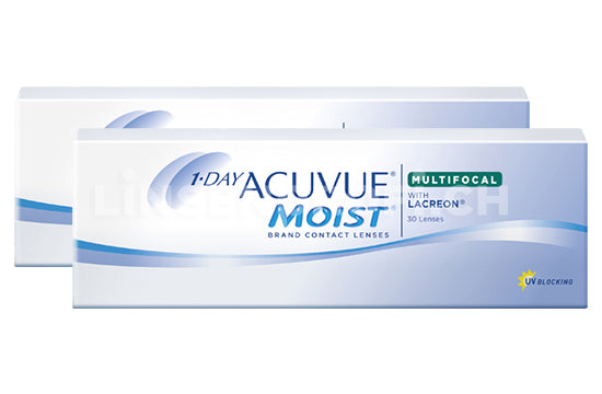 1-Day Acuvue Moist Multifocal (2x30 Stück)