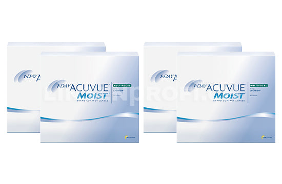 1-Day Acuvue Moist Multifocal (2x180 Stück), SPARPAKET 6 Monate