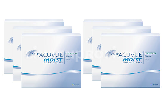 1-Day Acuvue Moist Multifocal (2x270 Stück), SPARPAKET 9 Monate