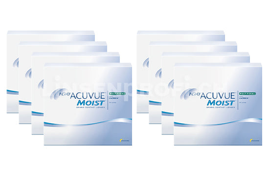 1-Day Acuvue Moist Multifocal (2x360 Stück), SPARPAKET 12 Monate
