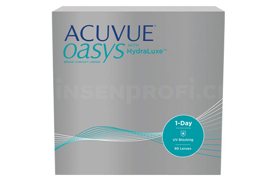 Acuvue Oasys 1-Day with HydraLuxe (1x90 Stück)