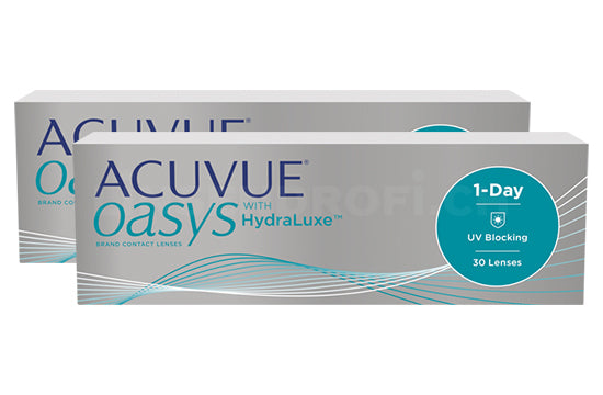 Acuvue Oasys 1-Day with HydraLuxe (2x30 Stück)