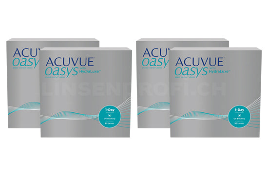 Acuvue Oasys 1-Day with HydraLuxe (2x180 Stück), SPARPAKET 6 Monate