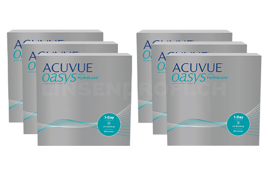 Acuvue Oasys 1-Day with HydraLuxe (2x270 Stück), SPARPAKET 9 Monate