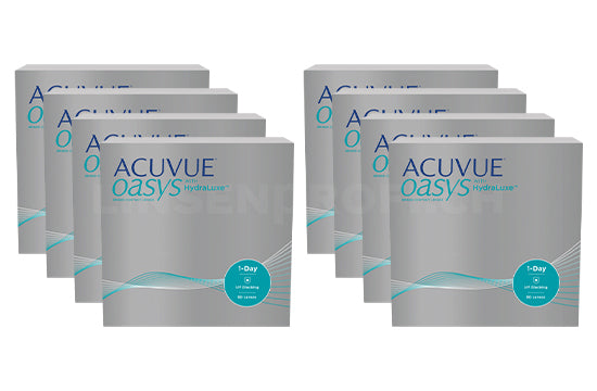 Acuvue Oasys 1-Day with HydraLuxe (2x360 Stück), SPARPAKET 12 Monate