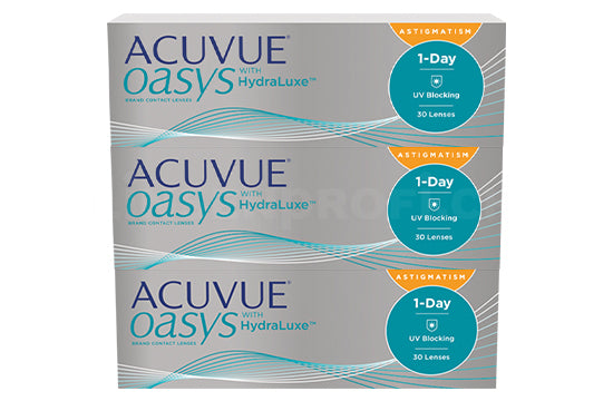 Acuvue Oasys 1-Day with HydraLuxe for Astigmatism (1x90 Stück)