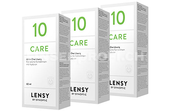 Lensy Care 10 (3x60ml)