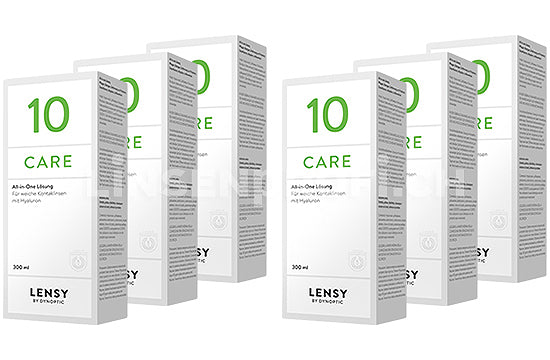 Lensy Care 10 (6x300ml)