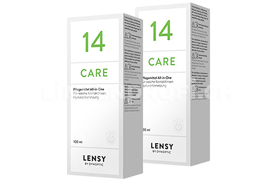 Dynaeasy 14 neu Lensy Care 14 (2x100ml)