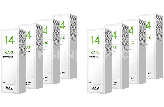 Dynaeasy 14 neu Lensy Care 14 (8x360ml)