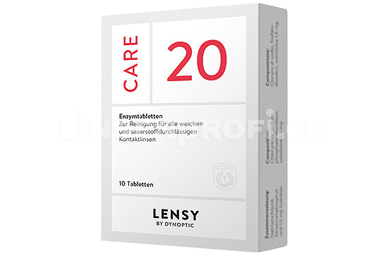 Dynaeasy 20 neu Lensy Care 20 (1x10 Tabletten)