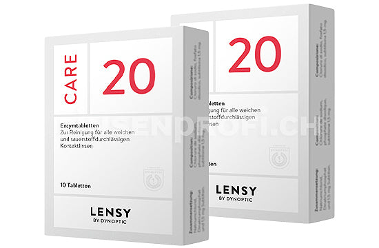 Dynaeasy 20 neu Lensy Care 20 (2x10 Tabletten)
