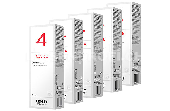 Dynaeasy 4 neu Lensy Care 4 (5x360 ml)
