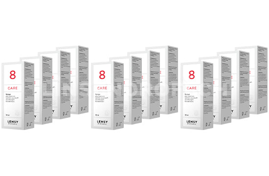 Dynaeasy 8 neu Lensy Care 8 (12x30ml)