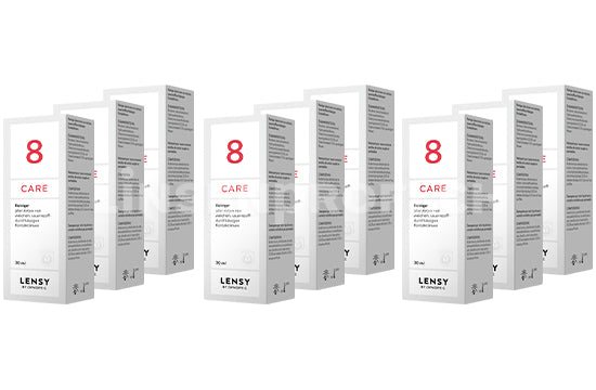 Dynaeasy 8 neu Lensy Care 8 (9x30ml)