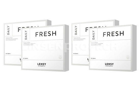 Lensy Daily Fresh Spheric (2x180 Stück), SPARPAKET 6 Monate