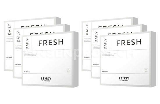 Lensy Daily Fresh Spheric (2x270 Stück), SPARPAKET 9 Monate