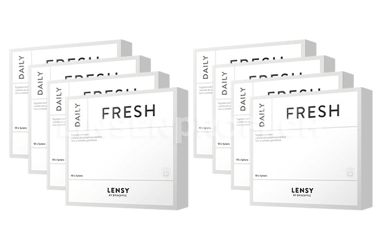 Lensy Daily Fresh Spheric (2x360 Stück), SPARPAKET 12 Monate