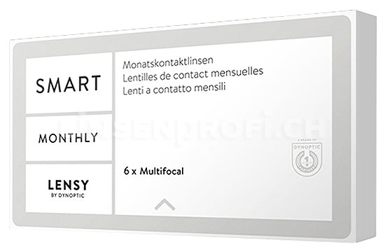 Lensy Monthly Smart Multifocal (1x6 Stück)