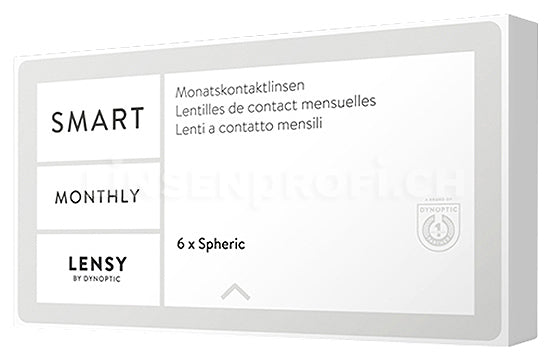 Lensy Monthly Smart Spheric (1x6 Stück)
