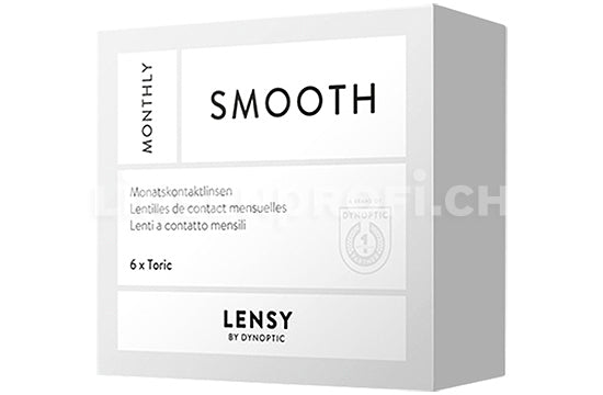 Lensy Monthly Smooth Toric (1x6 Stück)