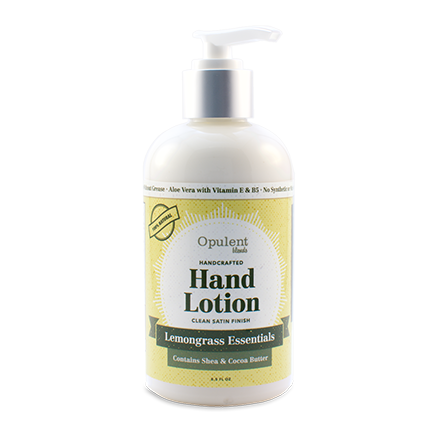 All Natural Hand Lotion - Lemongrass