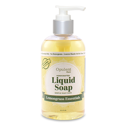 All Natural Liquid Soap - Lemongrass