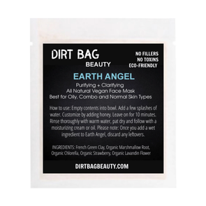 Facial Mask All Natural Earth Angel - Single Use