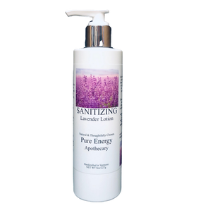 Hand Sanitizer Lotion 8 oz - Lavender