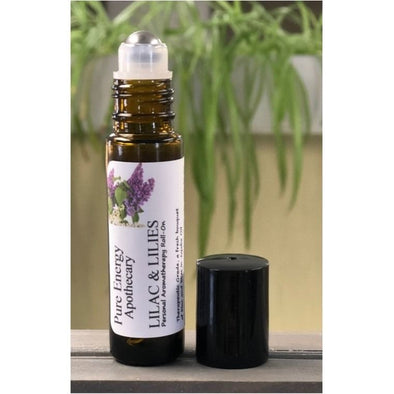 Lilac & Lilies Aromatherapy Roll-On
