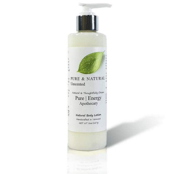 PURE & NATURAL (UNSCENTED) 8oz Body Lotion