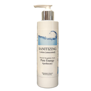 Hand Sanitizer Lotion- 8 oz (unscented)