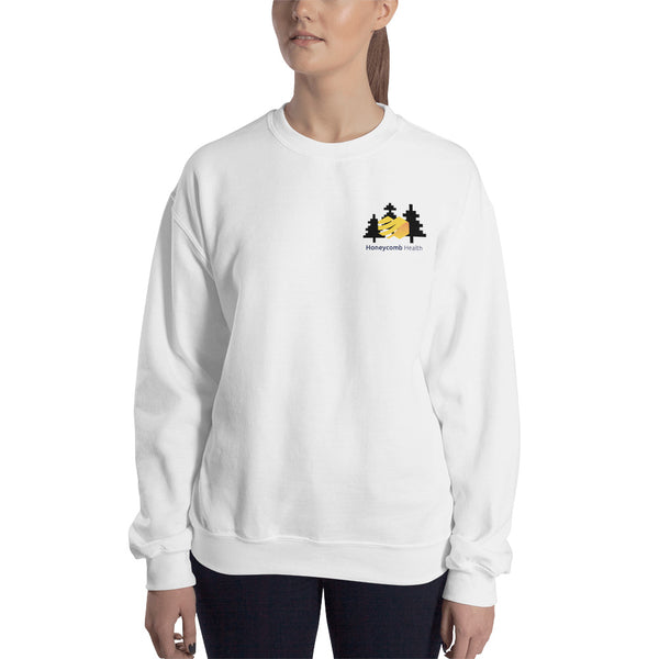 Honeycomb Health Crystal Clear Sweatshirt