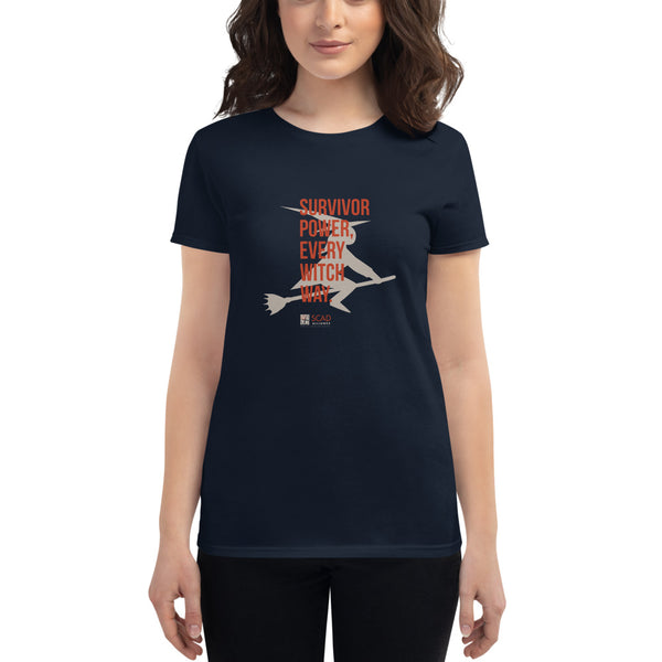 SCAD Woman's Survivor Power Shirt