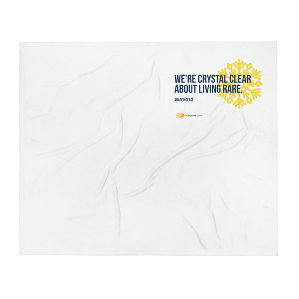 Honeycomb Crystal Clear Throw Blanket