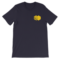 Short-Sleeve Embroidered Honeycomb Health T-Shirt w/ Logo